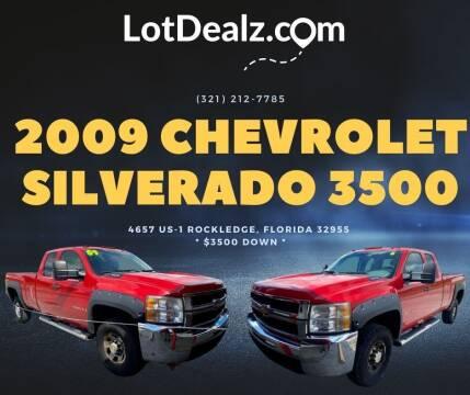 2009 Chevrolet Silverado 3500HD for sale at ROCKLEDGE in Rockledge FL