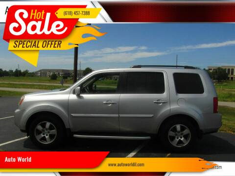 2010 Honda Pilot for sale at Auto World in Carbondale IL
