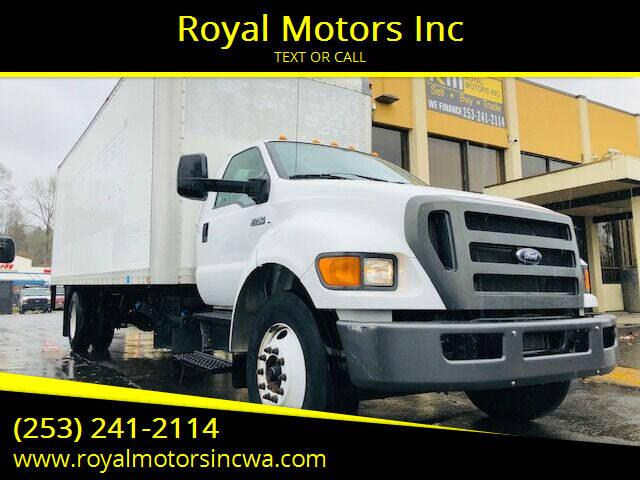 2013 Ford F-750 Super Duty for sale at Royal Motors Inc in Kent WA