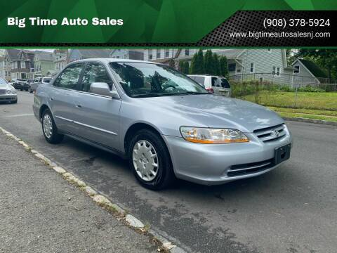 2001 Honda Accord for sale at Big Time Auto Sales in Vauxhall NJ