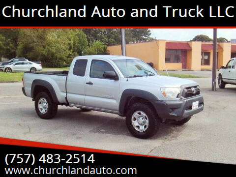 2012 Toyota Tacoma for sale at Churchland Auto and Truck LLC in Portsmouth VA
