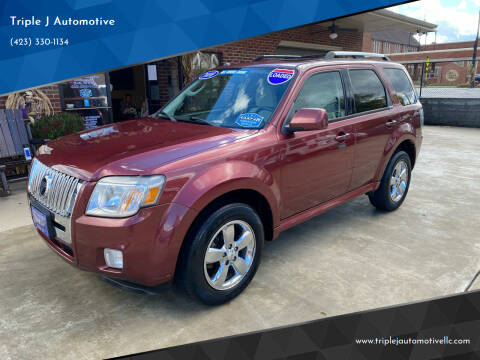 2010 Mercury Mariner for sale at Triple J Automotive in Erwin TN