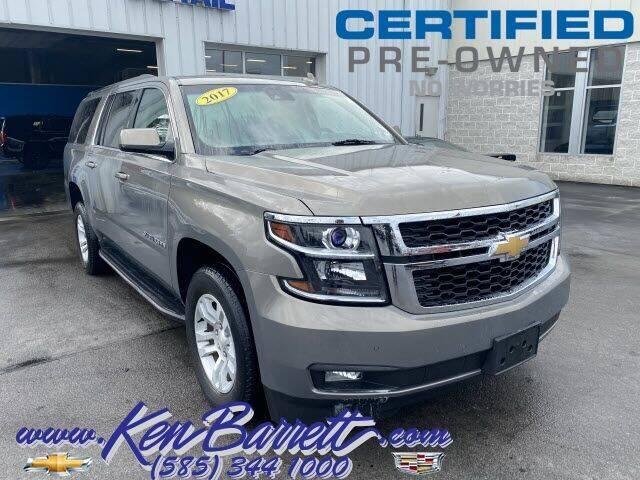 2017 Chevrolet Suburban for sale at KEN BARRETT CHEVROLET CADILLAC in Batavia NY