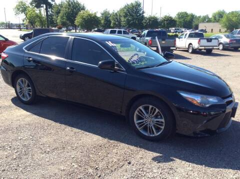 2016 Toyota Camry for sale at Road Runner Autoplex in Russellville AR