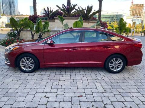 2016 Hyundai Sonata for sale at CYBER CAR STORE in Tampa FL