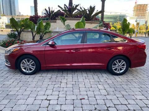 2016 Hyundai Sonata for sale at CYBER CAR STORE in Tampa FL