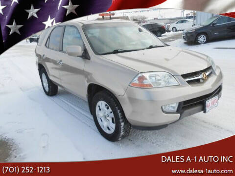 2002 Acura MDX for sale at Dales A-1 Auto Inc in Jamestown ND