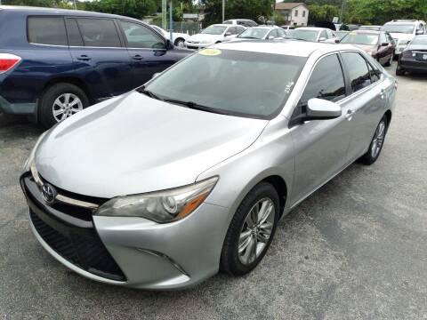 2016 Toyota Camry for sale at P S AUTO ENTERPRISES INC in Miramar FL