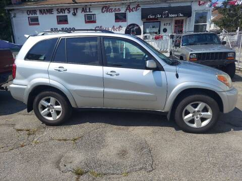 2005 Toyota RAV4 for sale at Class Act Motors Inc in Providence RI
