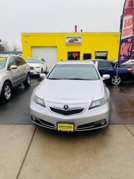 2012 Acura TL for sale at Hartford Auto Center in Hartford CT