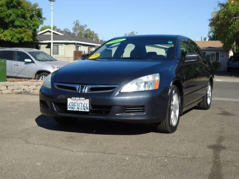 2007 Honda Accord for sale at Moon Auto Sales in Sacramento CA