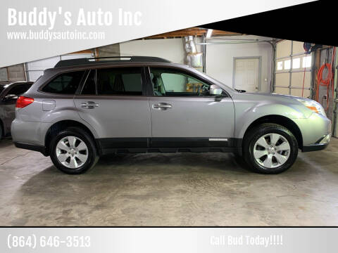 2010 Subaru Outback for sale at Buddy's Auto Inc in Pendleton, SC