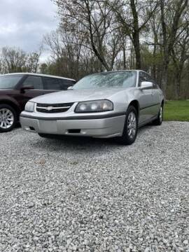 2005 Chevrolet Impala for sale at Doyle's Auto Sales and Service in North Vernon IN