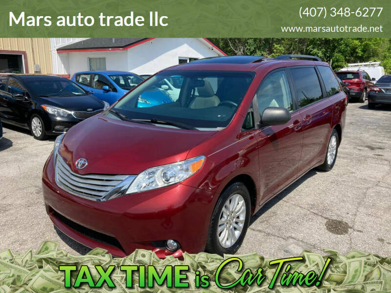 2014 Toyota Sienna for sale at Mars auto trade llc in Kissimmee FL