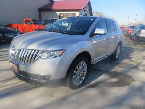 2011 Lincoln MKX for sale at Azteca Auto Sales LLC in Des Moines IA