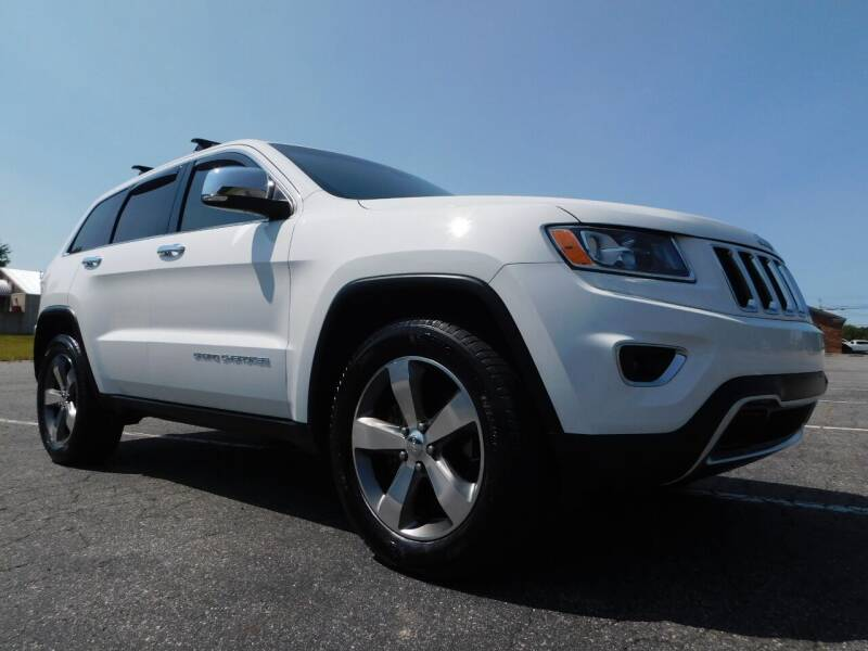 2015 Jeep Grand Cherokee for sale at Used Cars For Sale in Kernersville NC