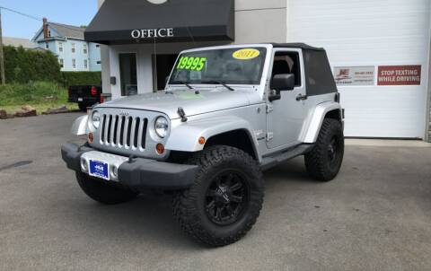 2011 Jeep Wrangler for sale at J&E Auto Sales in Branford CT