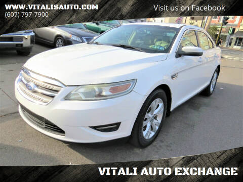 2011 Ford Taurus for sale at VITALI AUTO EXCHANGE in Johnson City NY