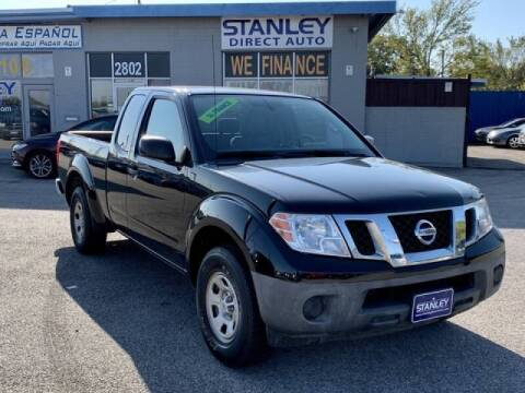 2014 Nissan Frontier for sale at Stanley Automotive Finance Enterprise - STANLEY DIRECT AUTO in Mesquite TX