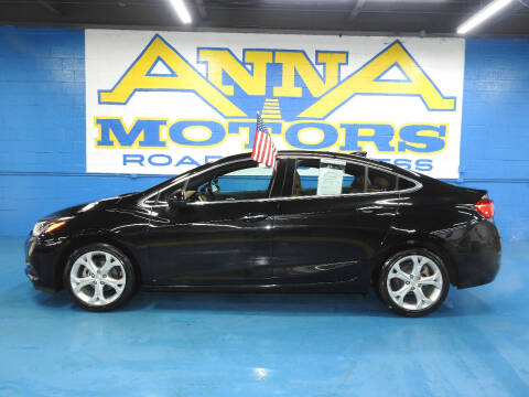 2017 Chevrolet Cruze for sale at ANNA MOTORS, INC. in Detroit MI
