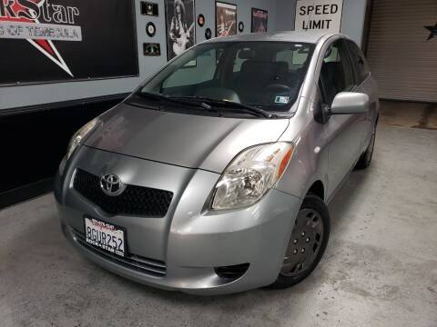 2008 Toyota Yaris for sale at ROCKSTAR USED CARS OF TEMECULA in Temecula CA