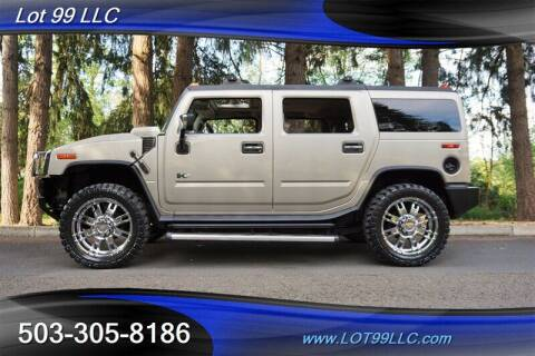 2004 HUMMER H2 for sale at LOT 99 LLC in Milwaukie OR