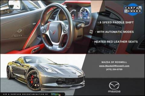 2019 Chevrolet Corvette for sale at Mazda Of Roswell in Roswell GA