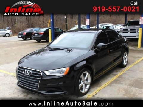 2016 Audi A3 for sale at Inline Auto Sales in Fuquay Varina NC