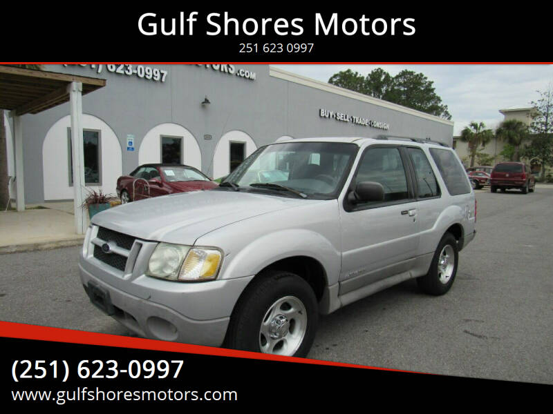 2002 Ford Explorer Sport for sale at Gulf Shores Motors in Gulf Shores AL
