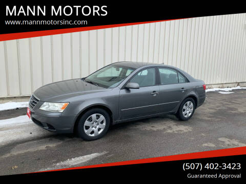 2010 Hyundai Sonata for sale at MANN MOTORS in Albert Lea MN