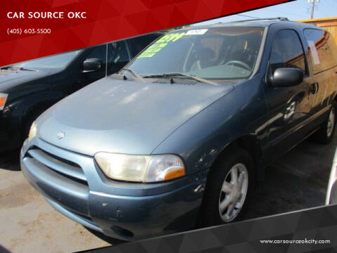 2001 Nissan Quest for sale at CAR SOURCE OKC in Oklahoma City OK