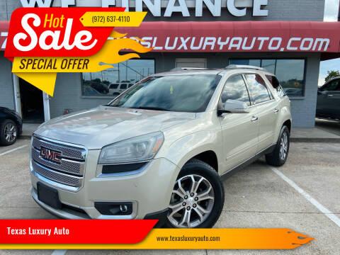 2013 GMC Acadia for sale at Texas Luxury Auto in Cedar Hill TX