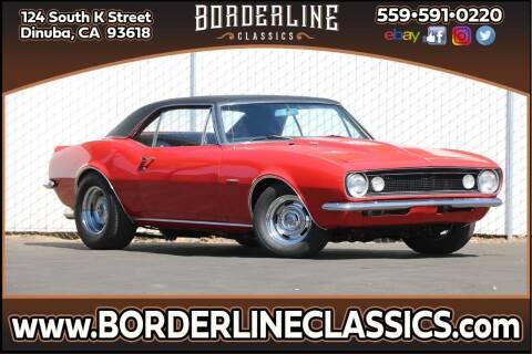 1967 Chevrolet Camaro for sale at Borderline Classics - Kearney Collection in Dinuba CA