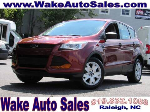 2014 Ford Escape for sale at Wake Auto Sales Inc in Raleigh NC