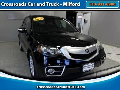 2012 Acura RDX for sale at Crossroads Car & Truck in Milford OH