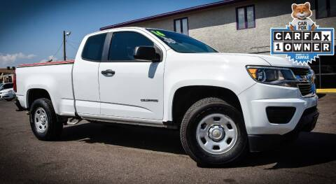 2016 Chevrolet Colorado for sale at Rahimi Automotive Group in Yuma AZ