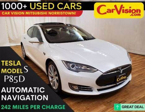 2014 Tesla Model S for sale at Car Vision Buying Center in Norristown PA