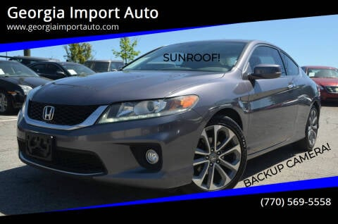 2014 Honda Accord for sale at Georgia Import Auto in Alpharetta GA