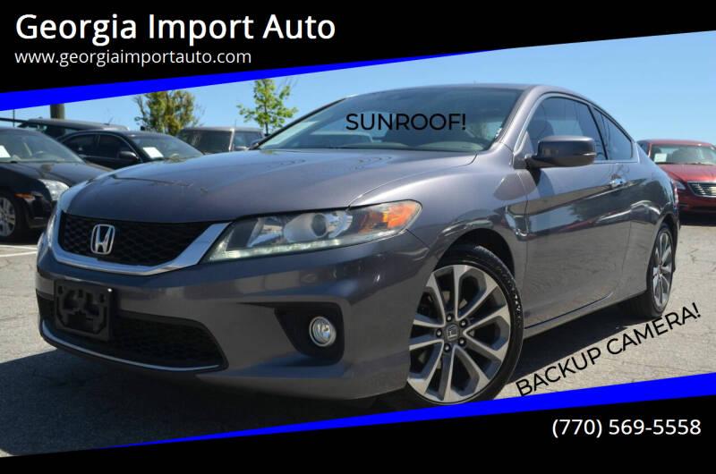 2014 Honda Accord for sale at Georgia Import Auto in Alpharetta GA