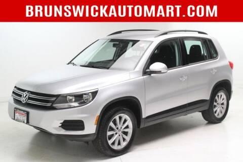 2017 Volkswagen Tiguan for sale at Brunswick Auto Mart in Brunswick OH