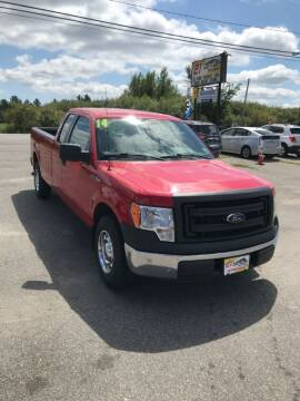2014 Ford F-150 for sale at 21ST CENTURY MOTORS in Gorham ME