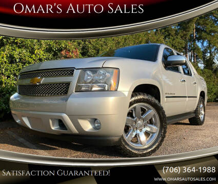 2013 Chevrolet Avalanche for sale at Omar's Auto Sales in Martinez GA
