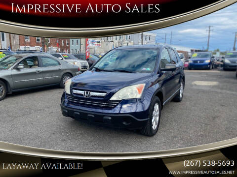 2009 Honda CR-V for sale at Impressive Auto Sales in Philadelphia PA
