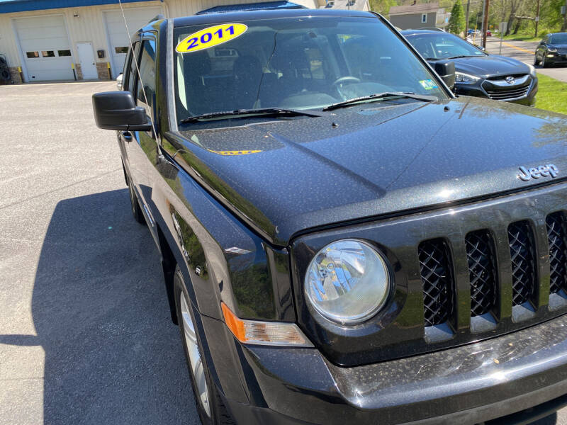 2011 Jeep Patriot for sale at WHARTON'S AUTO SVC & USED CARS in Wheeling WV
