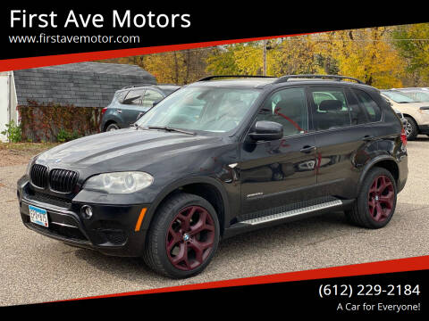 2012 BMW X5 for sale at First Ave Motors in Shakopee MN