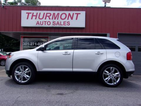 2013 Ford Edge for sale at THURMONT AUTO SALES in Thurmont MD