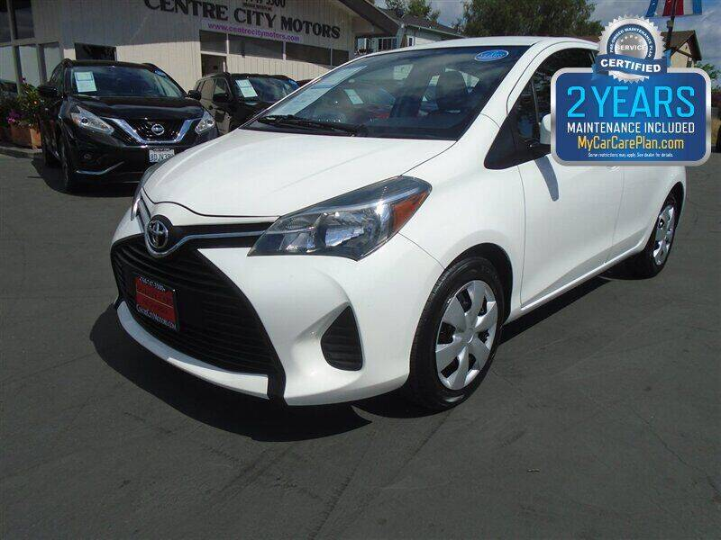 2016 Toyota Yaris for sale at Centre City Motors in Escondido CA