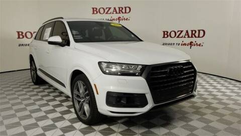 2018 Audi Q7 for sale at BOZARD FORD in Saint Augustine FL