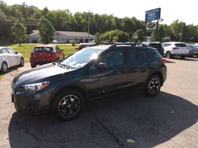 2018 Subaru Crosstrek for sale at Ripley & Fletcher Pre-Owned Sales & Service in Farmington ME