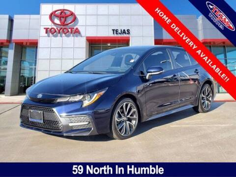 2020 Toyota Corolla for sale at TEJAS TOYOTA in Humble TX